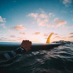 Photo of the Day: @alex__swanson soaks up a single-fin sunset while surfing in #SanDiego. ☀️ • • • #GoPro #GoProSurf #Sunset #SurfPhotography
