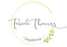 Identidade visual desenvolvida para a arquiteta Fabíola Thomaz. Estilo leve, feminino e delicado.