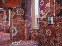Rudolf-Stingels-carpet-installation-covers-venices-palazzo-grassi-designboom-