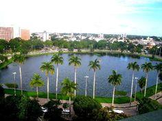 Lagoa do Parque Sólon de Lucena - Cartão Postal Oficial da Cidade. #João Pessoa - Paraíba - Brasil. O paraíso é aqui!