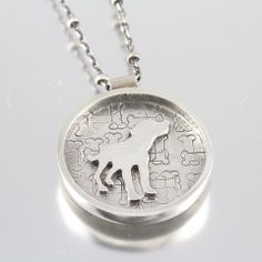 I Love My Rescue Dog Necklace – Handmade by Creative Dexterity