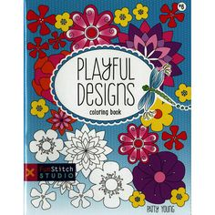 C T Publishing Playful Designs Coloring Book