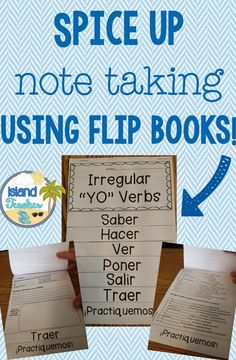Tired of Traditional Note Taking? Try Flip Books!
