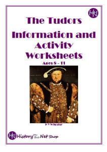 Tudors Worksheets