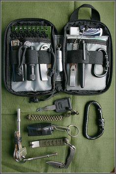Maxpedition Mini Pocket Organizer Survival Kit