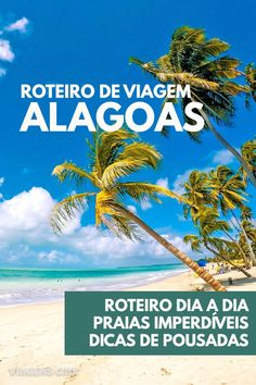 Alagoas: Dicas de Viagem e Roteiro de 7 a 10 Dias. Confira um roteiro do litoral norte ao litoral sul de Alagoas, incluindo as praias de Maceió, Maragogi e Praia do Gunga #Alagoas #Roteiro #Viagem #Maragogi #Maceio