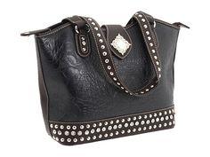 Nocona Diamond Concho Bucket Bag