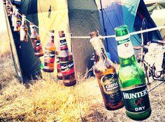 Oppikoppi 2014 <3  Campsite Identification Markings :) Campsite, Beer Bottle, Camping, Beer Bottles