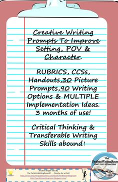 Our best selling strategic writing prompts, geared to IMPROVE creative writing, and to provide transferable writing skills. 3-months of writing, with rubrics, Standards and more.