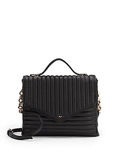 Bea Quilted Faux Leather Crossbody - SaksOff5th
