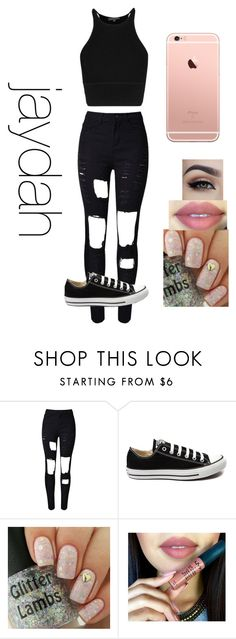 """""""wattpad story outfit"""" by lauraederveen on Polyvore featuring Converse, women's clothing, women, female, woman, misses and juniors"""