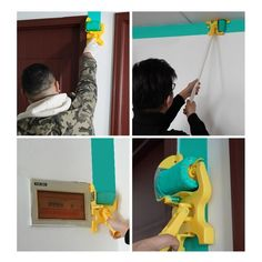 Tape Painting, Painting Tools, Painting Edges, Edge Painting Tool, House Painting, Rollers, Paint Edger, Brush Cut, Popcorn Ceiling