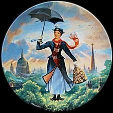 Why, it's Mary Poppins!