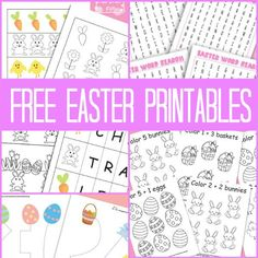 There's a whole bunch of Easter printables just waiting for you to print them! What are you planning to do for Easter? I do hope you will find something.