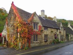 Row of cottages by CJFIZZ., via Flickr