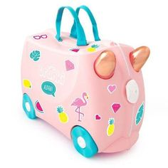Trunki bags are designed to make children's luggage colourful, and make travelling fun! Have a look at our range of kids suitcase that your little one will love!