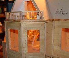 A minha casa de Bonecas ! <3 Feita de raiz à mão ! 9ª semana  www.facebook.com/ideiasoltasminiaturas