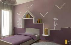 Cameretta realizzata dal LAGO STORE Catania. #children #bedroom