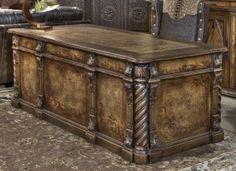 Amazing Antique Office Desk antique executive desk antique office furniture suite Office Idea Old World Style Desk Conquistador Executive Desk