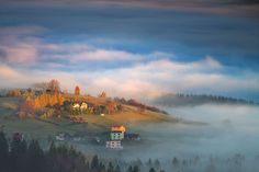 Morning Light in Beskidy, Poland