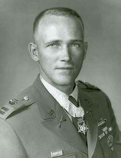 Medal of Honor recipient, U.S. Army Capt. Roger Donlon.  Cpt. Donlon was the first U.S. service member to be awarded the medal for actions during the Vietnam War. Cpt. Donlon was serving as the commanding officer of the U.S. Army Special Forces Detachment A-726 when he and his Special Forces team were attacked by Viet Cong on July 6, 1964. While two of his fellow comrades were killed, Cpt. Dolon, who was shot in the stomach and wounded three more times during the attack, continued to fight.