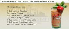 Belmont Breeze | Official Drink of the Belmont Stakes