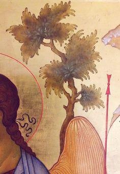The Holy Trinity. Plant Icon, Trinidad, Life Of Christ, Best Icons, Byzantine Art, Plant Drawing, Religious Icons, Catholic Art, Orthodox Icons