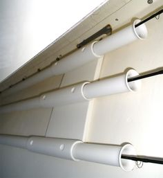 Horizontal Fly Rod Holders