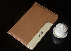 iPad Mini 4 Luxury Ultra Slim Lambskin Cover For ipad mini 1 2 3 4 iPAD Air 1 2 Leather Case Covers Stand With Hand Holder - iPad Mini 4 Cases - iPad Mini Cases - iPad Cases