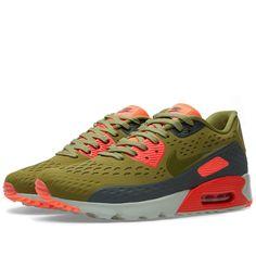 promo code 30bc4 1fa11 Nike Air Max 90 Ultra BR (Scenery Green   Bright Crimson) Article  725222