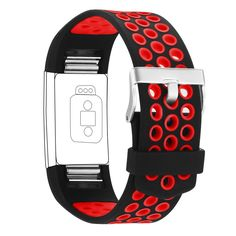 Generic for Fitbit Charge 2 Bands, Adjustable Soft Silicone Replacement Bands Sports Accessories Straps for Fit bit Charge 2 Heart Rate Fitness Tracker (Red), Bracelets - Amazon Canada