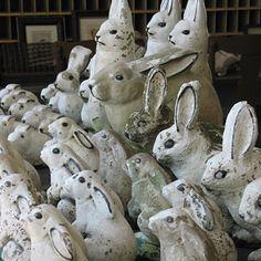 easter bunnies...