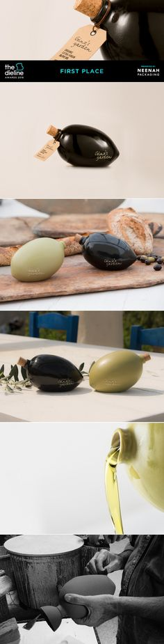 The Dieline Awards 2016: Olive by Gino's Garden- Marios Karystios — The Dieline | Packaging & Branding Design & Innovation News