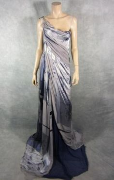 Spartacus Lucretia Lucy Lawless Screen Worn Roman Gown EP 202 COA | eBay