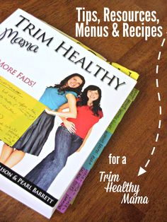 All of my Trim Healthy Mama recipes, menus, and resources in one place!