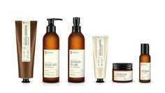 Phenome - organic skincare products by Ah&Oh Studio, via Behance