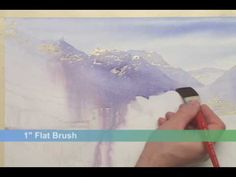 ▶ Watercolor Quest: Waterton Lakes - YouTube