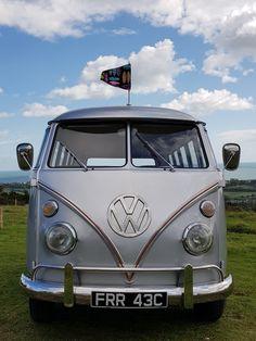 Vans Style, Bay Window, Camper Van, Funeral, Volkswagen, Vehicles, Aliner Campers, Car, Vehicle