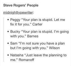 Steve Rogers' People