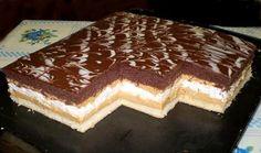 Sweet Desserts, Delicious Desserts, Dessert Recipes, Cake Bars, Sweet And Salty, Nutella, Tiramisu, Sweet Tooth, Bakery