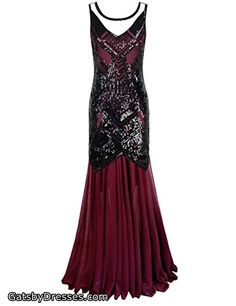 PrettyGuide Women Flapper Sequin Art Deco Long Cocktail Formal Dress Evening Dress(Ship from USA,Delivered in 7 days) Gatsby Dress, 1920s Dress, Evening Dresses, Prom Dresses, Sun Dresses, Vestidos Flapper, Formal Dresses For Women, Flappers, Buy Dress