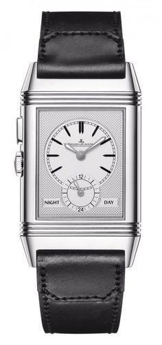 (second face) New Jaeger-LeCoultre Grande Reverso Ultra Thin Duoface Blue