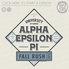 Alpha Epsilon Pi   AEΠ   Fall Rush   Fraternity Rush   Rush Shirt   TGI Greek   Greek Apparel   Custom Apparel   Fraternity Tee Shirts   Fraternity T-shirts   Custom T-Shirts