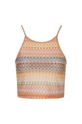 TALL Crochet Square Neck Crop Top