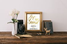 Be Our Guest, Instant Download, Wifi Password, Wifi Sign, Wall Decor, Print, Home Decor, Wifi password printable, Guest room decor, Gold by Authoredarrayprints on Etsy https://www.etsy.com/listing/243888487/be-our-guest-instant-download-wifi
