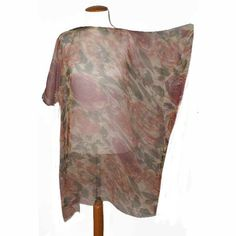 blusón de gasa de seda da JULUNGGUL by Julia Munilla