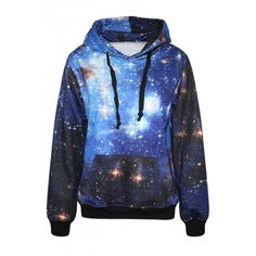 Mysterious Galaxy Print Hoodie ($25) ❤ liked on Polyvore featuring tops, hoodies, white, hooded top, long sleeve hooded sweatshirt, white hoodie, sweatshirts hoodies and long sleeve hoodie