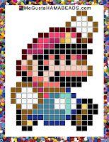 Patrones Hama Beads Super Mario World parte 3
