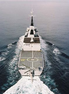 "French Marine Nationale lead ship of it's named class of 5 ""stealth"" frigates La Fayette (F 710)."