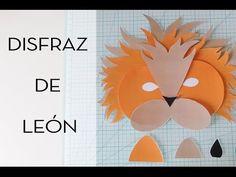 Cómo hacer un disfraz de león. Con plantilla para descargar. - YouTube